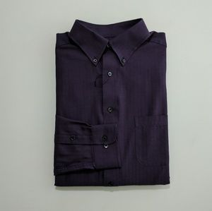Roundtree & Yorke Men's Dress Shirt Large Tall